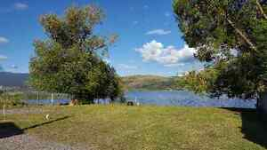 Lake Front RV Lot for Rent on the Shores of Okanagan Lake