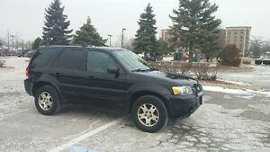 2005 Ford Escape LIMITED 156,719 KMS SAFTIED ETESTED