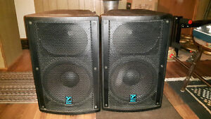 Yorkville Elite EP500P PA Speakers
