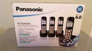 Panasonic cordless phone with voicemail