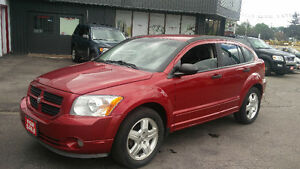 2007 Dodge Caliber SXT 175,000km  5 speed Certified!