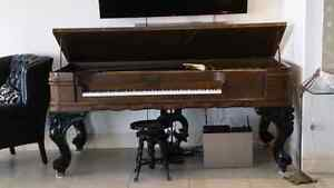 Haines Bros.  175 year old square grand piano