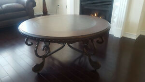 THREE (3) PIECE COFFEE TABLE SET FROM ASHLEY FURNITURE