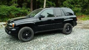 2002 Chevrolet Trailblazer LTZ SUV, Crossover