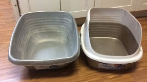 FREE Cat Litter Boxes (Two)