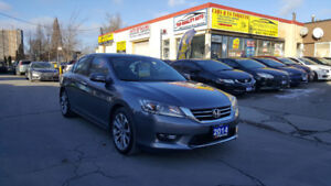 2014 HONDA ACCORD SPORT SEDAN LOADED WITH ONLY 66 KM