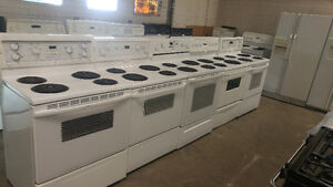 REFIGERATORS /STOVES / WASHERS/ DRYERS 1 YEAR WARRANTY!