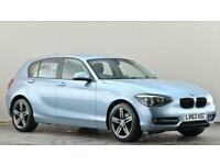 2013 BMW 1 Series 118d Sport 5dr Step Auto Hatchback diesel Automatic