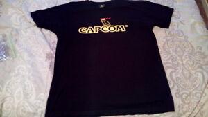 OVO X Capcom Black Shirt XL