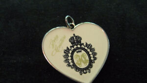Juicy Couture large heart charm with loop