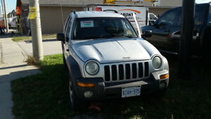 2002 Jeep Liberty sport SUV,