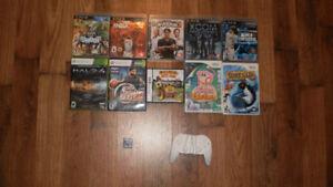 Lot de jeux vidéo PS3 -XBOX 360 - Wii -DS