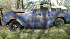 1973 International Scout 11 for parts