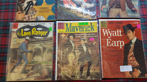 8  WESTERN COMICBOOKS  1958  to 1960