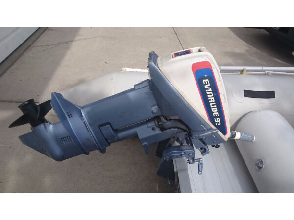 Used 1976 Evinrude 15hp Short Shaft Motor (9.9hp converted to a 15hp)