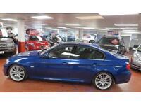 2010 BMW 3 SERIES 318d M Sport Step Auto Full LTH AUX USB Voice Com Bluetooth