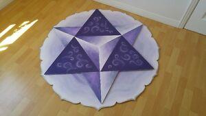"Mandala unique double : Merkaba & Fleur de vie 48"" de diamètre Gatineau Ottawa / Gatineau Area image 2"