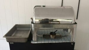 Roll top chafers, Nacho warmer, thermo finisher and more