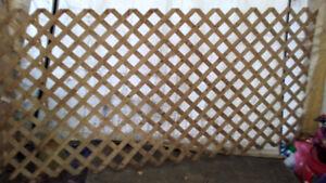 Wood Lattice - 4 x 8 - Traditional Treated