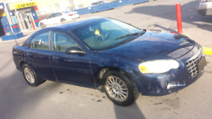 2005 Sebring excellent on road..front struts almost due..has b