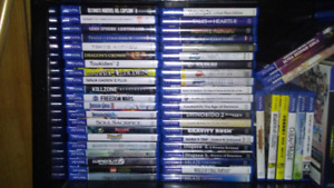 Ps vita games for sale or trade