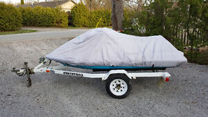 1996 Polaris SLT780 & Trailer