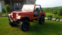 1985 Jeep CJ7 Coupe (2 door)