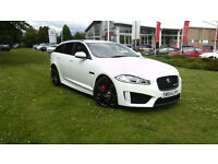 Jaguar XF 5.0 ( 550ps ) ( s/s ) Sportbrake Auto 2014MY XFR-S, Polaris White