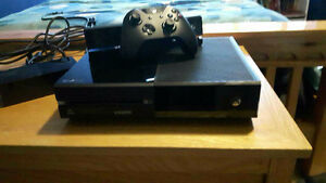 Xbox One 500Gb w/kinect + 3 kinect games