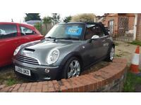 2005 Mini 1.6 Cooper S CONVERTIBLE NICE CAR PX WARRANTY FSH