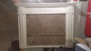 Unique, Beautiful, Shabby Chic Queen Headboard