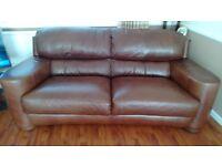 Leather sofa for immediate sale!