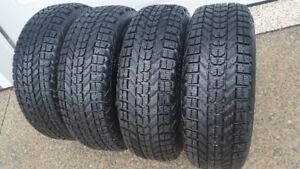 FIRESTONE WINTERFORCE 215/55R/16 GOOD CONDITION- 10/32NDS TREAD