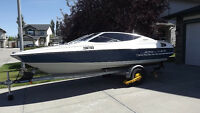 Bayliner Capri 1991 18ft open bow, 150hp Mercury outboard