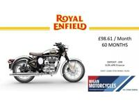 ROYAL ENFIELD BULLET CLASSIC CHROME EFI COMES WITH MANUFACTURERS WARRANTY