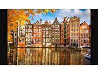 Return Flights to Amsterdam - Nov long weekend