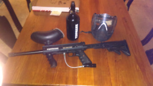 Tippmann 98 with hpa tank