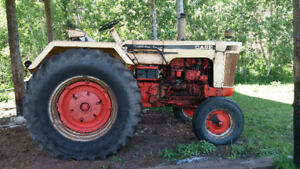 Case 830 Tractor 1968 with Trailer sold seperate