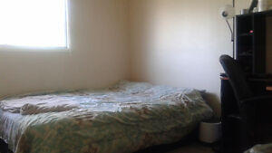 Room for rent across from university. Available immediately.