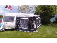 Dorema full caravan awning size 18