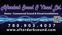 ASSISTANT HELP REQUIRED FOR SOUND & VISUAL COMPANY.