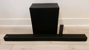 Samsung Soundbar and Wireless Subwoofer Home Theater System