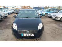2007 Fiat Grande Punto 1.2 Active petrol full year mot will be put on