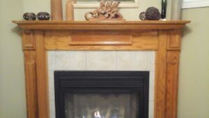 FIREPLACE MANTEL SURROUND FOR GAS FIREPLACE