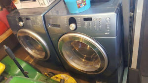 Front Load Samsung Washer and Dryer