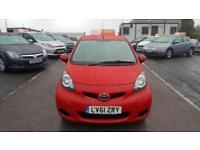 2012 Toyota Aygo Hatch 5Dr 1.0VVTi 67 Go Petrol red Manual