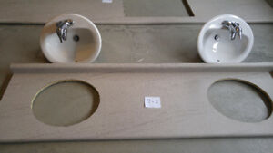Like New Formica Countertops/sinks