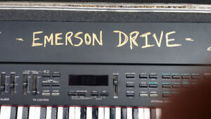 EMERSON DRIVE BAND SIGNED Roland RD500 Keyboard ONE OF A KIND