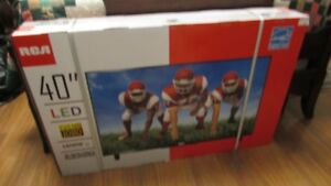 New-in-box, 40-inch LED Television