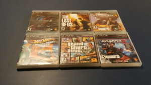 Playstation 3 [PS3] Games -- $30 FOR ALL or $10 EACH